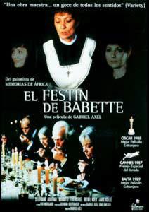 El festín de Babette Poster